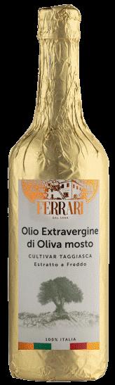 OLIO EXTRA VERGINE DI OLIVA Taggiasca Ligure, Olio Ferrari