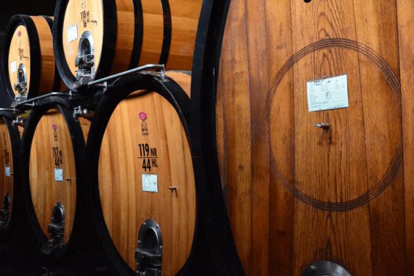 Rotwein-Herstellung