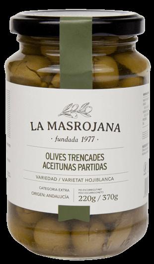 OLIVES TRENCADES Oliven, La Masrojana