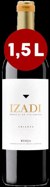 IZADI CRIANZA Rioja 2016, Bodegas Izadi, MAGNUM 1,5 L