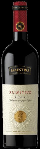 PRIMITIVO Puglia 2016, Vigne del Maestro