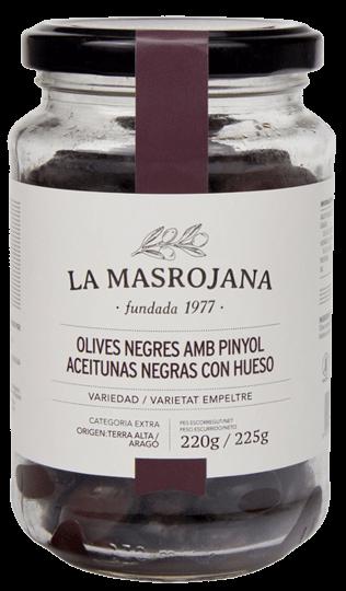 OLIVES NEGRES del Baix Aragó Oliven, La Masrojana