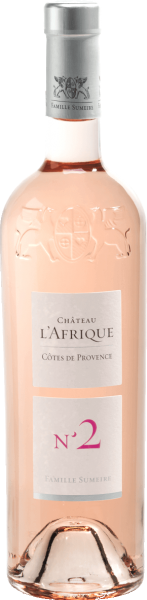 CHATEAU L'AFRIQUE Rosé No.2 Côtes de Provence 2019, Sumeire